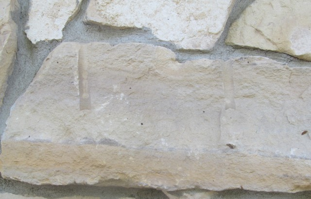 Limestone quarry marks