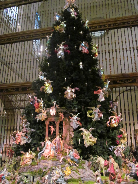 From my camera. The Neopolitan Baroque Angel Tree at the Metropolitan Museum of Art, NY, NY