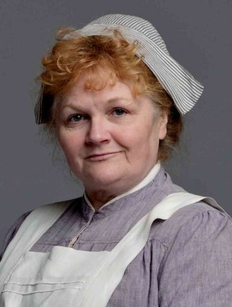 Mrs Patmore. Photo courtesy of PBS.