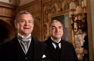 Lord Grantham and Mr. Carson. Photo courtesy of PBS.