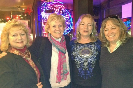 New friends morph into old friends at the little Greek restaurant on the corner!  :)