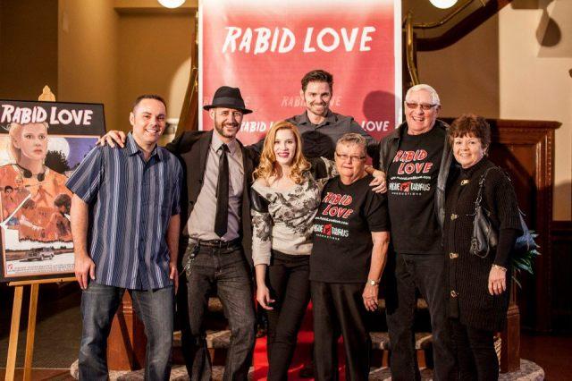 The Rabid Love Bunch with Lance Ziesch, Mark Furrini, Halley Derryberry, Dorothy Ziesch, Leo Ziesch, Cheryl Porter and Paul Porter. Photo couresty of Morgan Estill.