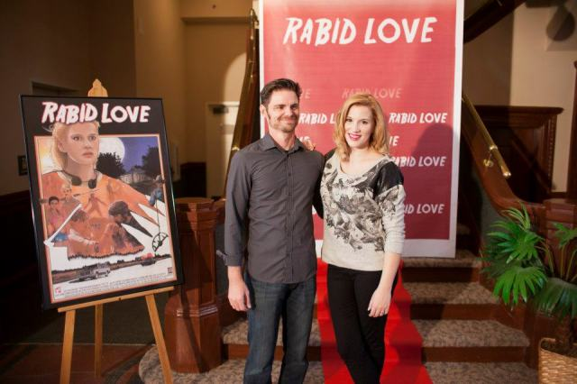 Rabid Love stars Paul Porter and Hayley Derryberry. Photo courtesty of Morgan Estill.