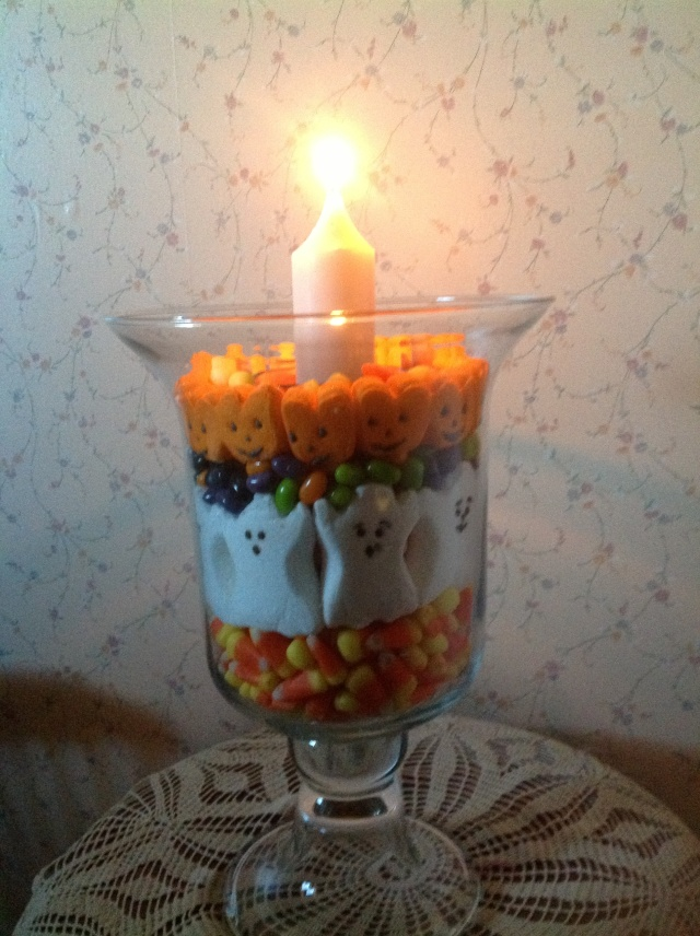 Halloween Ghost candle
