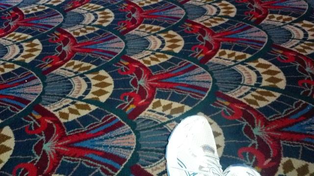 Theater Lobby carpet