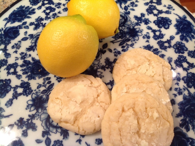 Lemon Snicker Cookie