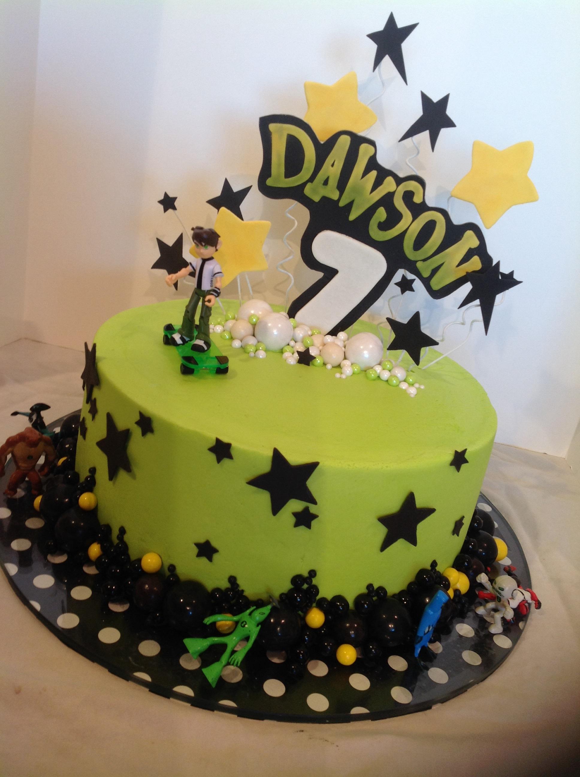 Ben  Birthday Cake With Name