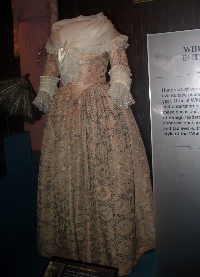 Smithsonian Inaugural Dresses