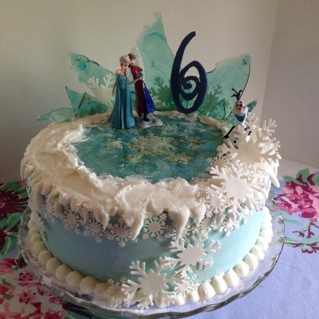 Frozen Snow cake