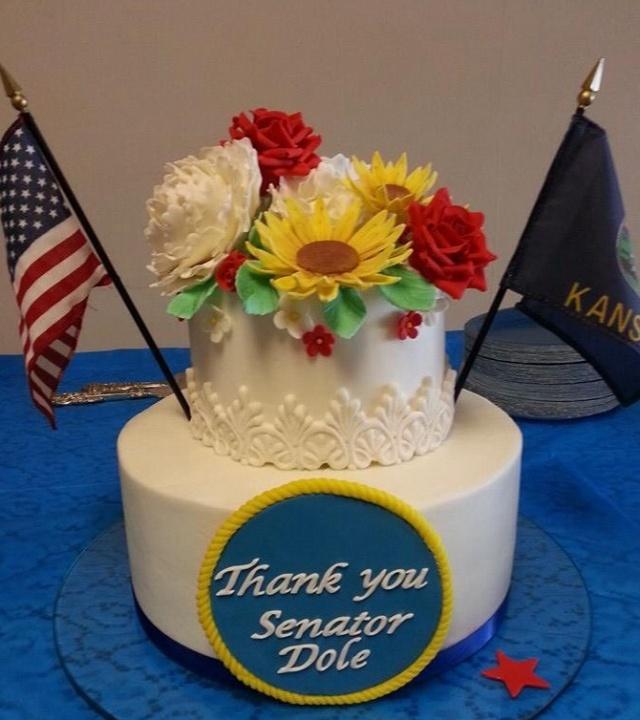 Senator Bob Dole's Farewell cake