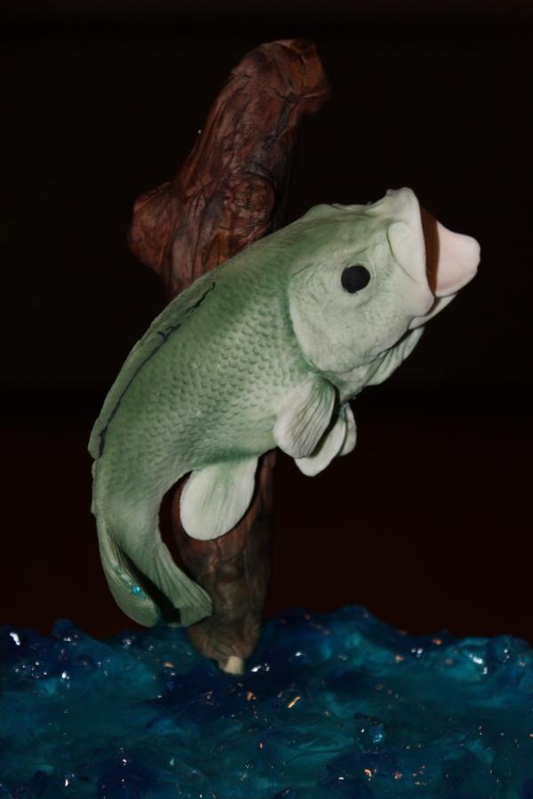 gumpaste fish