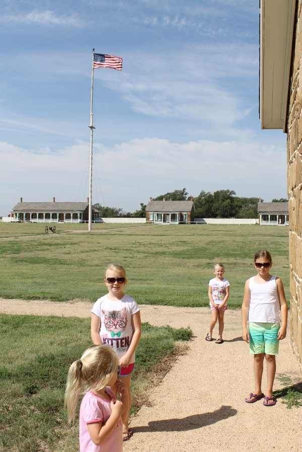 Fort Larned Ks parade ground
