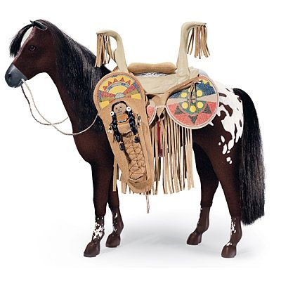 American Doll Indian saddle