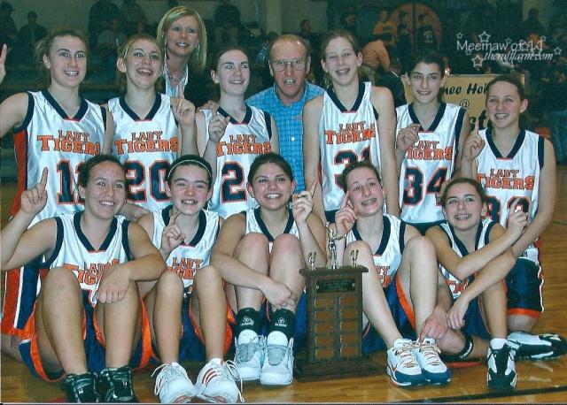 2007 Pawnee Heights Jr. High Girls BB