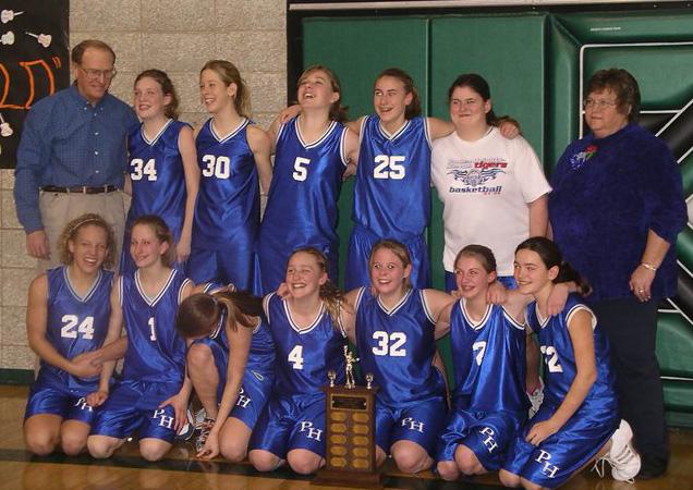 Pawnee Heights Girls Basketball Team