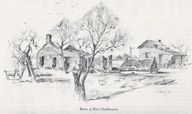 Fort Chadbourne, by E. M. Schiwetz, 1955.