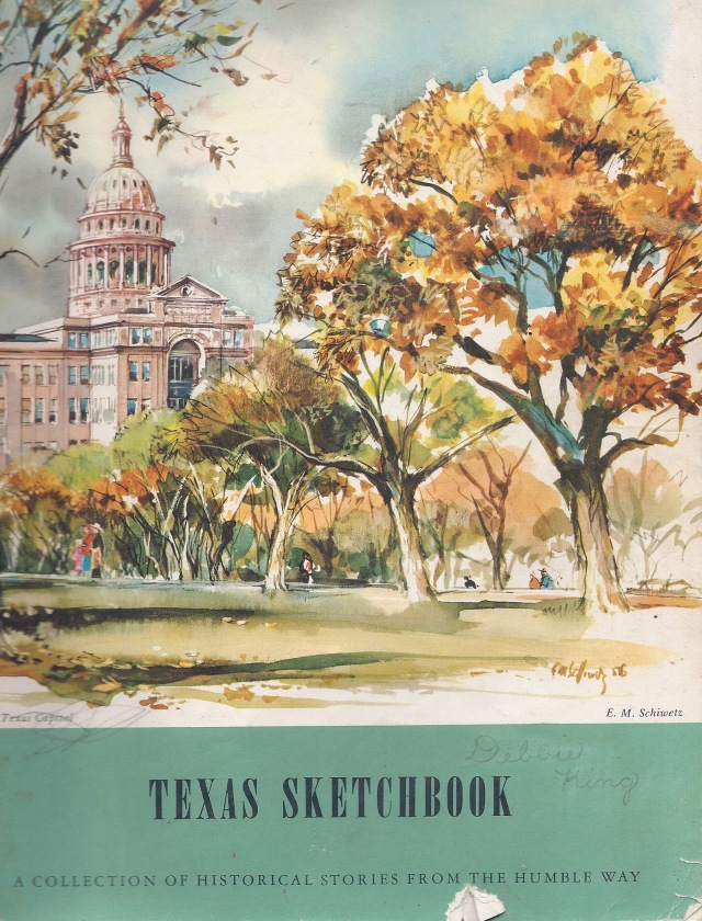 Texas Sketchbook cover