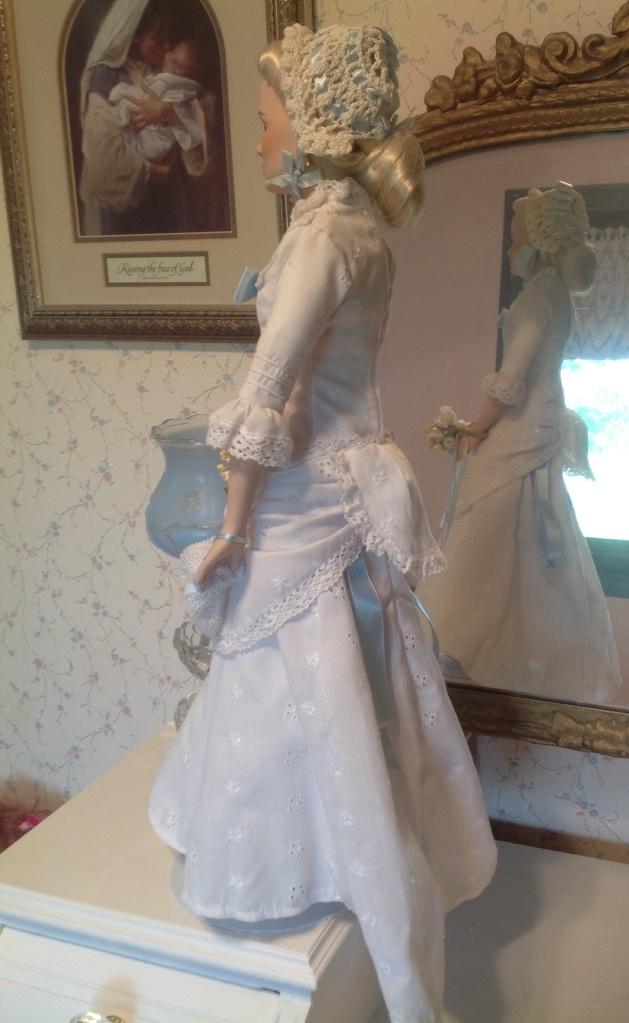 Amy Kane's bridal dress