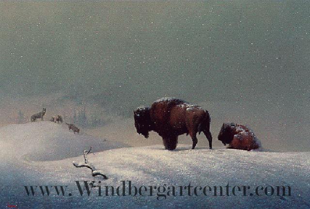 """""""Awaiting Battle"""" image courtesy of windbergartcenter.com"""