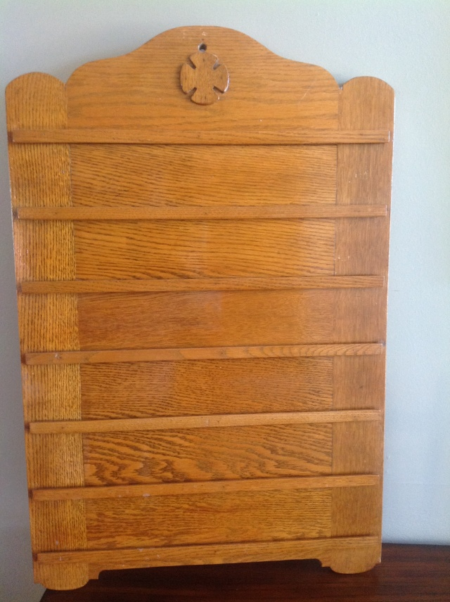 solid oak, church, attendance board, hymn number board, antique