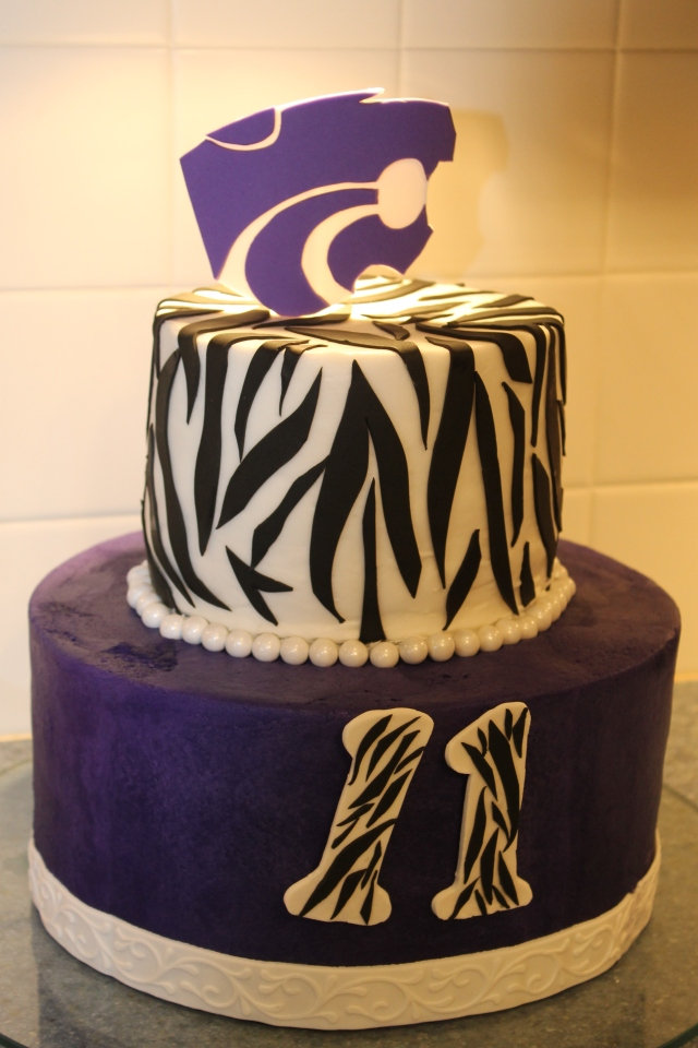 Kansas State, Powercat, wildcat, cake