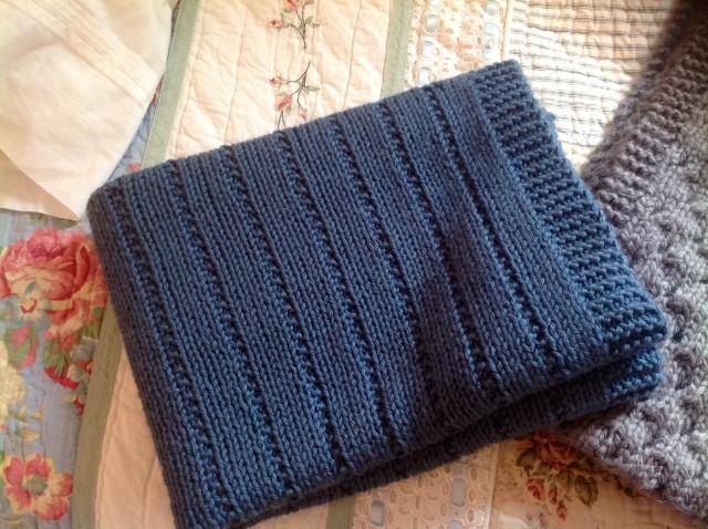 knit baby blanket cashmerino