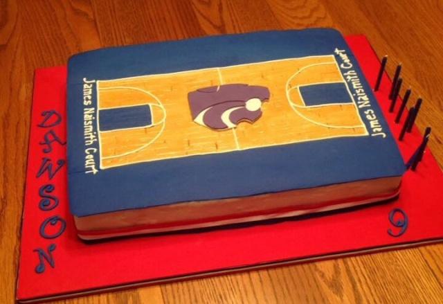 Powercat, KU basketball court cake