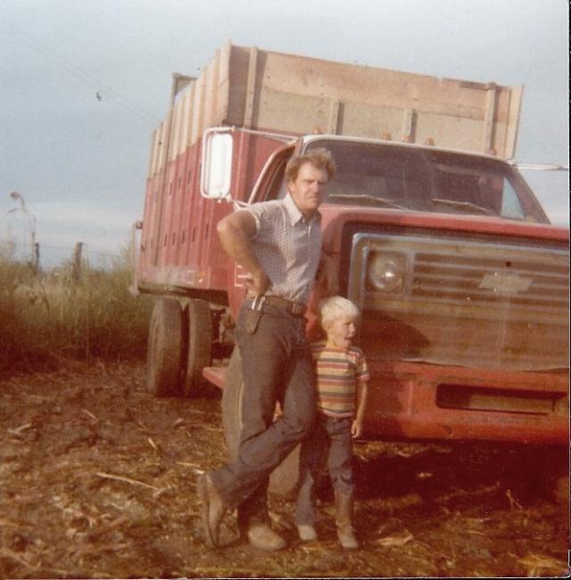 farm life, silage harvest