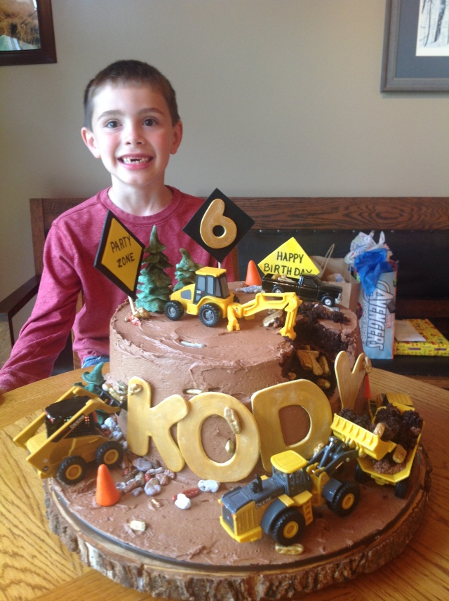 Gold Rush birthday cake