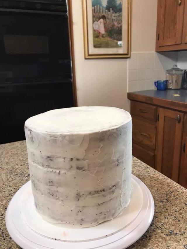 crumb coat, cake